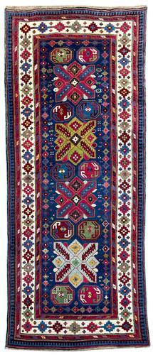 Antique Caucasian Talish Long Rug (1 of 10)