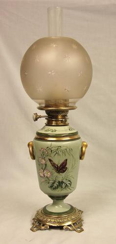Antique Victorian Vase Lamp (1 of 10)