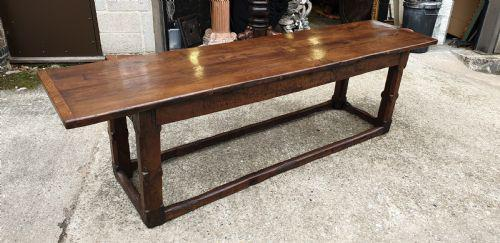 Outstanding 17th Century Oak Refrectory Table (1 of 8)