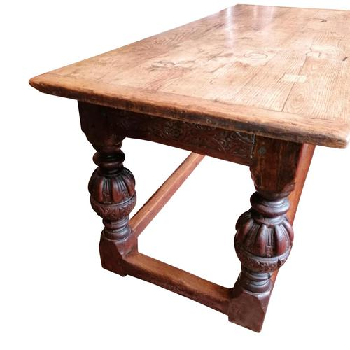 Beautiful 17th Century Oak Refectory Table (1 of 6)