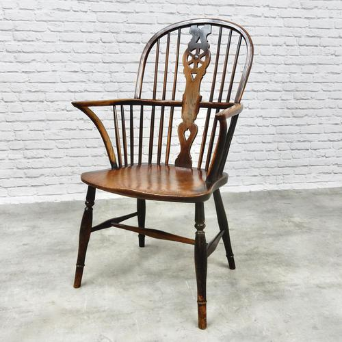 Thames Valley Highback Windsor Armchair (1 of 9)