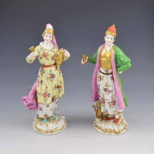 Pair of Samson Porcelain Figures of Ottomans / Turks after Meissen (1 of 13)