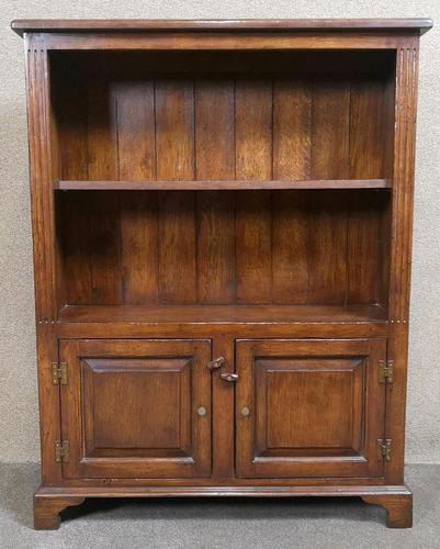 Good Quality Oak Open Bookcase (1 of 11)