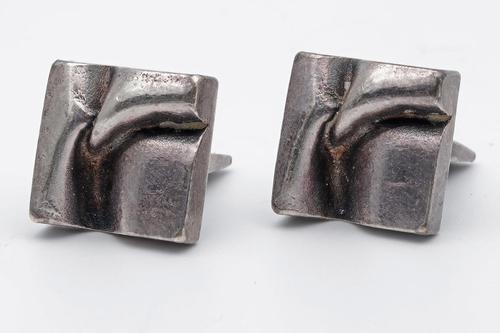 Silver Cufflinks Finnish (1 of 4)