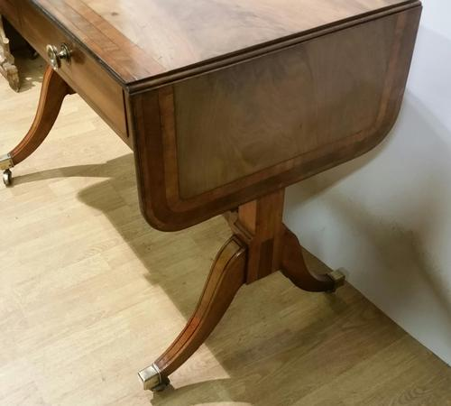 Regency Period Small Sofa Table c.1815 (1 of 9)