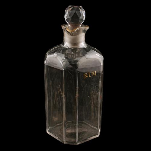 Early 19th Century Rum Decanter (1 of 8)
