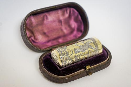 19th Century Silver Gilt Scent Bottle (1 of 6)