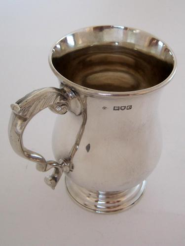 Good Quality Late Victorian Silver Pint Mug (1 of 6)
