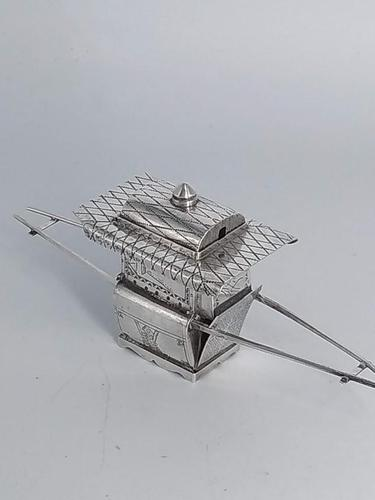 Silver Chinese Sedan Chair (1 of 12)