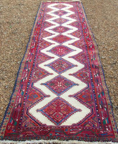Neat Antique Sarab Runner Carpet (1 of 8)