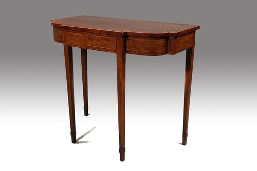 Elegant George III Period Bow & Breakfront Pier Table (1 of 6)