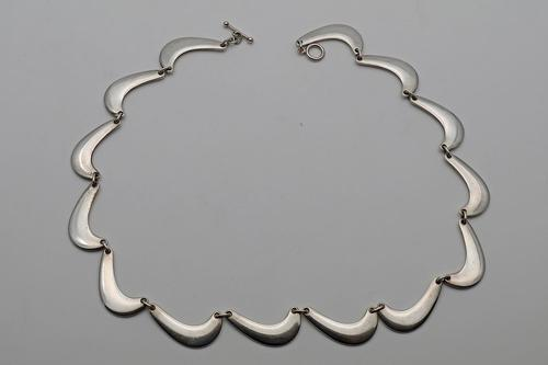 Rare Silver Necklace Nanna Ditzel for Georg Jensen (1 of 2)