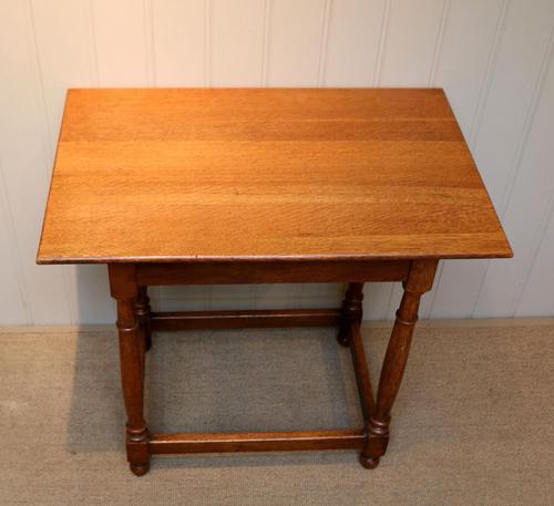 Light Oak Side Table (1 of 8)