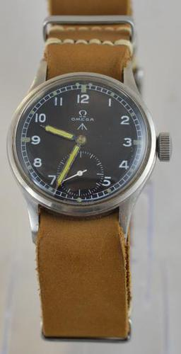Omega British Military Dirty Dozen Wristwatch (1 of 6)