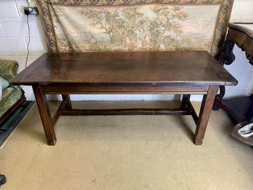 Late 19th Century Oak Farmhouse Table (1 of 7)