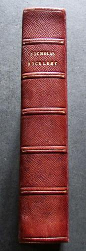 1839 Charles Dickens 1st Edition of Nicholas Nickleby (1 of 5)