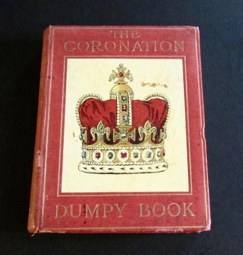 1900 The Coronation Dumpy Book,  Pictures by Patten Wilson Miniature Book,  1st Edition (1 of 6)