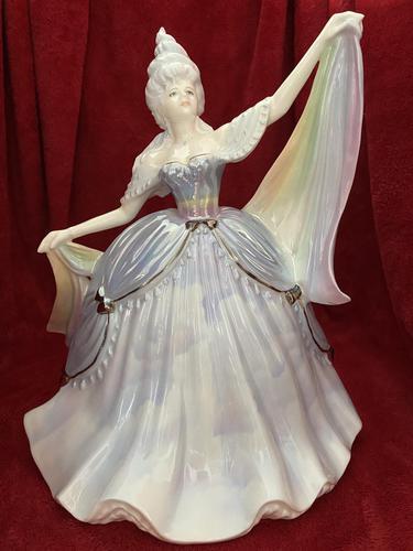 "Rare Coalport Limited Edition Figurine ""Rain"" The Millennium Ball Collection (1 of 9)"