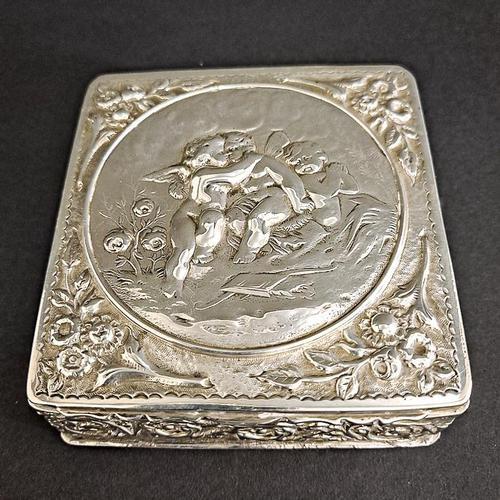 Victorian Silver Box (1 of 3)