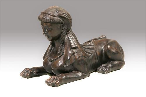 Well Modelled Early 20th Century Figure of a Sphinx Like Female (1 of 5)