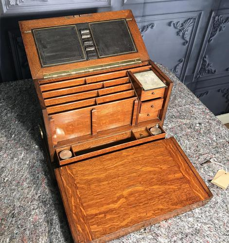 Quality Victorian Stationery Box (1 of 15)