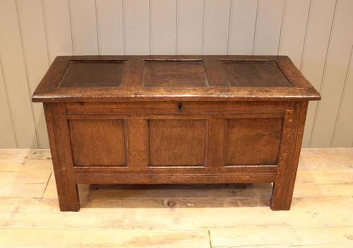 Original Late 17th Century Oak Coffer (1 of 11)