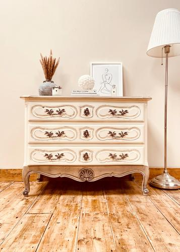 French Antique Style Drawers / Parquet Chest of Drawers / Louis XV Style Drawers (1 of 10)