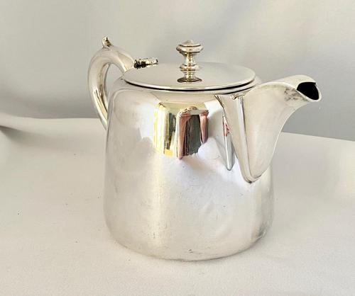 Hotel Plate Teapot with Strainer (1 of 7)