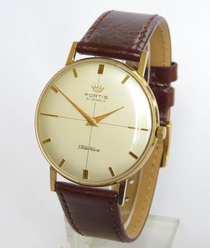 Gents Fortis Streamline Wrist Watch c.1960 (1 of 5)