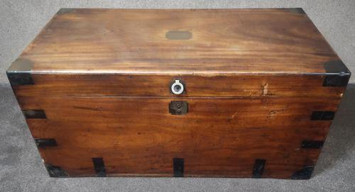 Large 19th Century Camphor Wood Chest V/ Trunk (1 of 11)