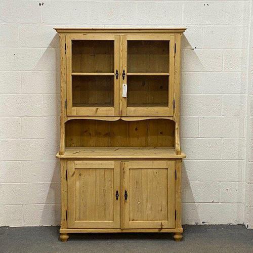 Large Antique Pine Dresser (1 of 5)
