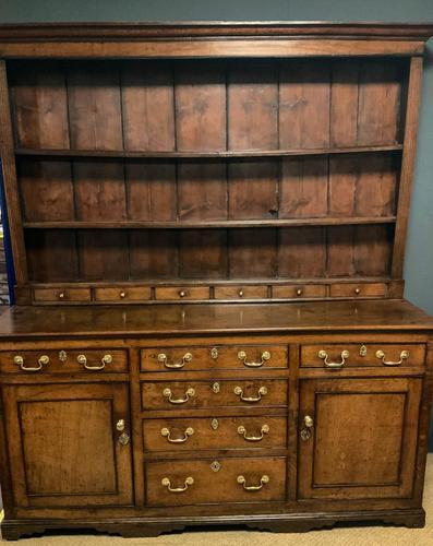 Very Good 18th Century Oak Dresser (1 of 15)