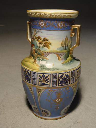 Large Early 20th Century Japanese Vase (1 of 4)