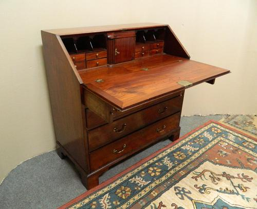 Georgian Mahogany Bureau (1 of 5)