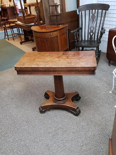 Antique card table (1 of 5)
