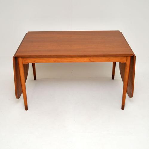 Danish Teak Vintage Drop Leaf Dining Table by Borge Mogensen (1 of 11)