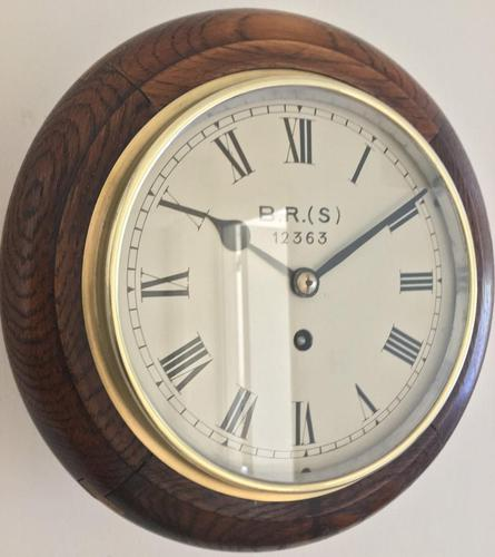 Eight Day Fusee British Rail Railway Clock (1 of 9)