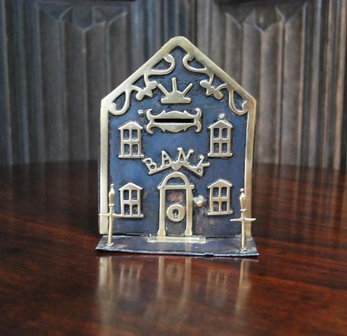 Iron & Brass Money Box (1 of 4)