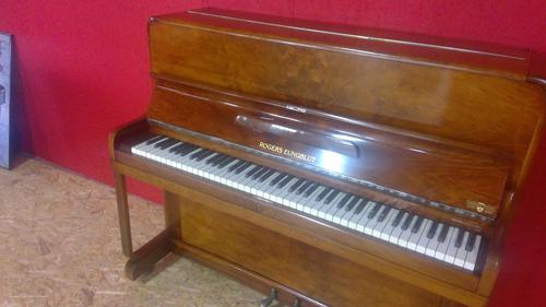 Art Deco Designed Walnut Upright Piano by Rogers Eungblut c.1930 (1 of 6)