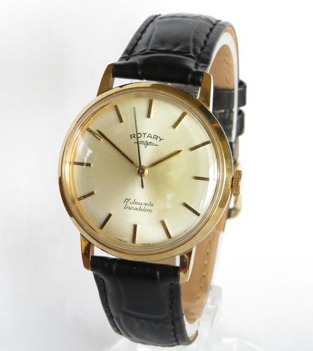 Gents Rotary Wrist Watch, C1970 (1 of 5)