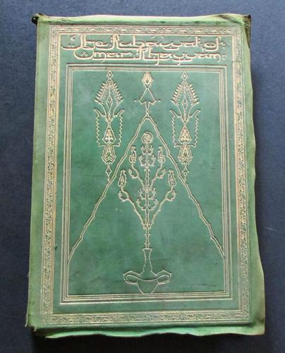 1930 Signed Limited Deluxe Edition - Rubaiyat of Omar Khayyam by Willy Pogany (1 of 7)