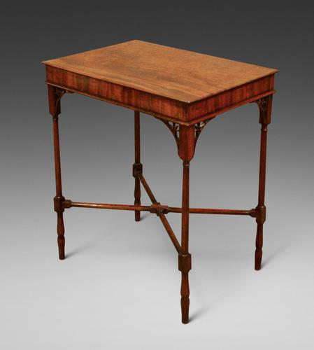 An Elegant George III Mahogany Occasional Table (1 of 5)
