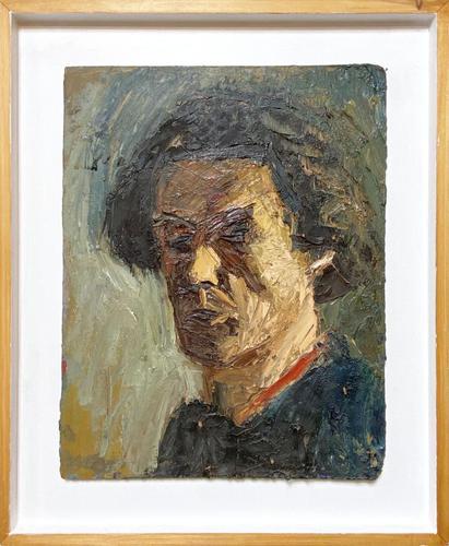Oil on Board Portrait of Male (1 of 2)