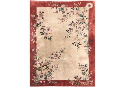 Antique Chinese Art Deco Carpet (1 of 12)
