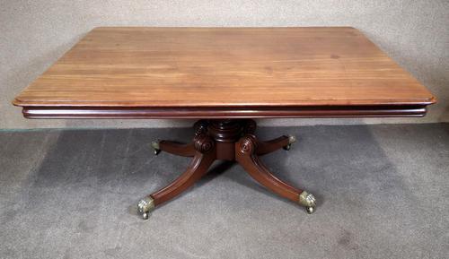 Regency Mahogany Breakfast Table / Dining Table - Seats Eight (1 of 12)
