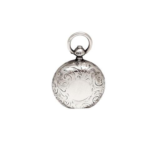 Antique Sterling Silver Sovereign  Case   1912 (1 of 9)