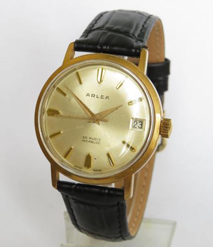 Gents 1960s Arlea Wrist Watch (1 of 5)