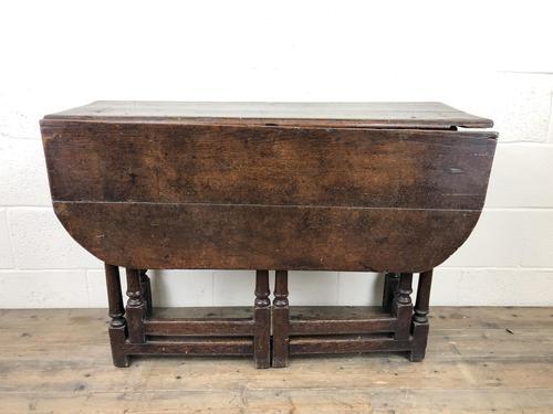 Early 18th Century Oak Gateleg Table (1 of 11)