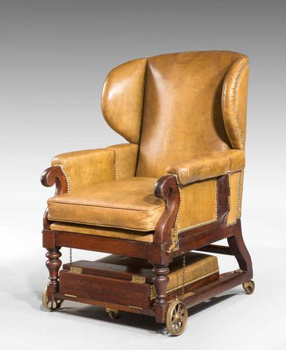 19th Century Invalids' Chair, Stamped J. Ward (1 of 8)