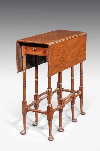 "George III Style Mahogany ""Spider-leg"" Table c.1890 (1 of 5)"